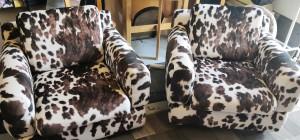 Askon 70-luvun tuolien uudelleen verhoilu