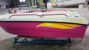 Terhi More Fun vene asiakkaan omalla toive värillä